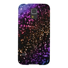 Cool Metallic Rainbow Glitter Samsung Galaxy S5 Case.  Cool Rainbow Glitter bling for your favorite Galaxy S5