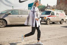 New York Fashion Week Street Style Fall 2015   POPSUGAR Fashion