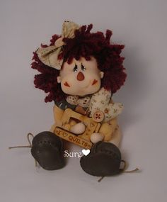 Country Doll, Porcelana Fría, Biscuit