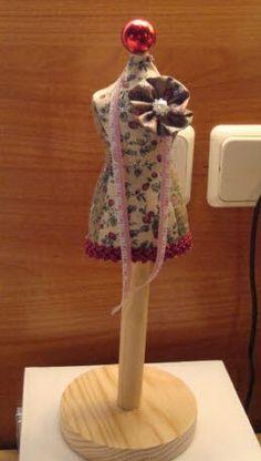 Las cositas de la tata: Tutorial para hacer un maniquí pincushion o alfiletero