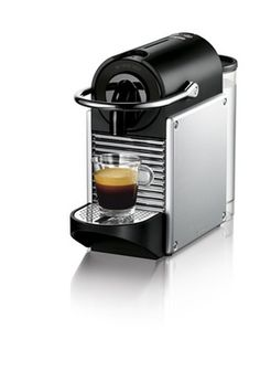 Shop for nespresso pixie at Bed Bath & Beyond. Buy top selling products like Nespresso® Pixie Espresso Machine by Breville® with Aeroccino Milk Frother in Electric Titan and Nespresso Pixie Espresso Machine by De'Longhi with Aeroccino. Best Home Espresso Machine, Espresso Machine Reviews, Espresso Maker, Espresso Coffee, Best Coffee, Espresso Drinks, Pixie, Bar, Coffee Shop