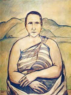 Gertrude Stein by Francis Picabia (no date, private collection)