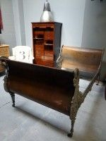 Napoleon III cast-iron daybed c1870 <br /><strong>(Click for more info)</strong>