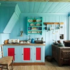Iceland Homes - eclectic - kitchen - other metro - Michael Kelley Photography