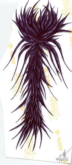 h. walde- ballpoint pen on photo paper
