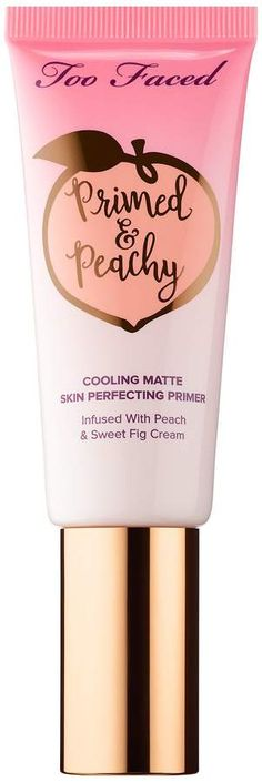 Too Faced Primed & Peachy Cooling Matte Perfecting Primer Peaches and Cream Collection