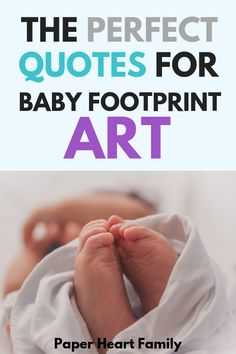 Baby footprint quotes, sayings and poems about cute little baby feet. These quotes paired with footprint art are the perfect way to document children's lives and childhood. Baby Feet Crafts, Baby Feet Art, Baby Art, Parenting For Dummies, Best Parenting Books, Parenting Quotes, Baby Poems, Baby Boy Quotes, Foot Quotes