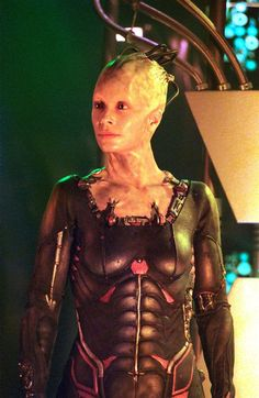 Coolest homemade borg queen from star trek costume - We are the borg quote ...