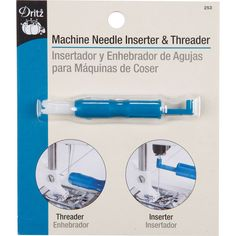 Browse Dritz Machine Needle Inserter and Threader, and more of our Supplies Thread Accessories. Shop our huge selection of thread and fabric, enjoy savings with sales and coupons!