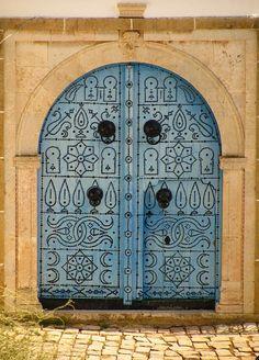 Fascinated by the doors III - Sidi Bou Said, Tunis