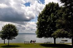 Enjoying an afternoon by the lake in Skaneateles, N.Y., Thursday, July 2, 2015.