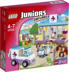 LEGO® Juniors Mia a veterinárna klinika
