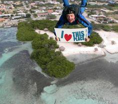 Skydiving Aruba #onehappyisland