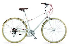PUBLIC Bikes M7 FrenchStyle StepThrough Design Mixte City Bike Cream MediumLarge205 *** Click image for more details. This is an Amazon Affiliate links.