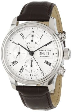 Men Watches : Louis Erard Men's 78259AA21.BDC21 Heritage Chronograph Automatic Watch