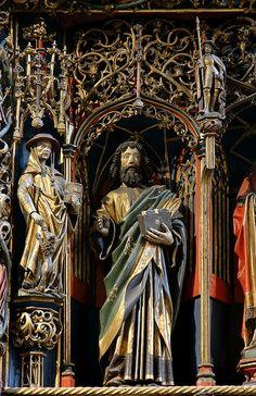 Xanten, Dom St. Victor, Antoniusaltar, detail