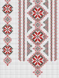 Gallery.ru / Фото #35 - схемы для вышиванок - zhivushaya