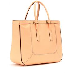 Leather T-Tote by Chloé