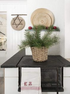 Christmas house in Sweden by stylist Anna Truelsen