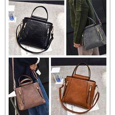 Hot Women Pu Leather Handbag Satchel Shoulder Bag Tote Messenger Hobo Bags Purse