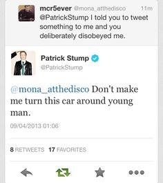 patrick+stump+cute | omfg Patrick Stump why is he so cute his tweets