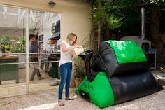 ENGIE acquires minority stake in HomeBiogas, an Israeli startup pioneering the field of household biogas solutions – Baby Massage Fertilizer For Plants, Cooking Stove, Ways To Recycle, Baby Massage, Baby Strollers, Natural, Modern Design, Household, Families