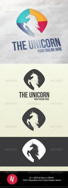 The Unicorn Logo #graphicriver