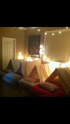 Sleepover mini-tents
