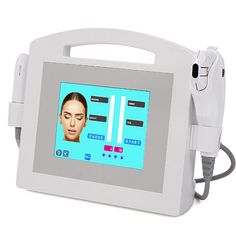 Facial Ultrasonic Machine 2IN1 Ultrasound Hifu Beauty System Non Surgical Facelift, Pulse Light, Subcutaneous Tissue, Thermal Energy, Face Treatment, Ultrasound, Plastic Surgery, Collagen, Facial