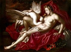 Joseph Werner the Younger, Leda and the Swan, 1682