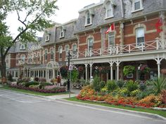 Niagara-On-Lake. We got married in this hotel, the Prince of Wales, on a sunny autumn day. Perfect