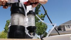 How to Turn Water into Fuel by Building This DIY Oxyhydrogen Generator Mad Science — Evil Experiments for Scientific Thrill Seekers « Mad Science :: WonderHowTo Camping Survival, Survival Tips, Survival Skills, Survival Weapons, Apocalypse Survival, Urban Survival, Renewable Energy, Solar Energy, Solar Power