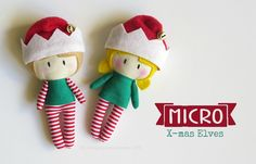 "5"" MICRO X-mas Elves by Cook You Some Noodles®"