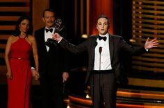 Jim Parsons wins his fourth #Emmy for Big Bang Theory http://ind.pn/1su7hnZ