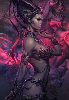 Queen of the Dead Art by Artgerm.deviantart.com on @deviantART