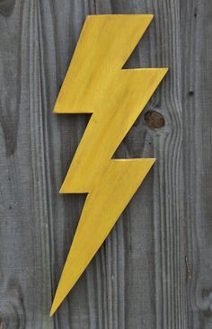 Hey, I found this really awesome Etsy listing at https://www.etsy.com/listing/176384524/wooden-lightning-bolt-thunder-storm-wall
