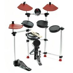 Responsive and compact, the DD-501 Electronic Drum Kit is quick and easy to setup, meaning youll be ready to rock in no time. Over 100 built in sounds and 40 preset tracks are at your stick-tips to customise and play along with. Ideal for aspiring drummers the 501 has a number of technique improving features and applications. More advanced drummers can hook the 501 up to their computer and explore and experiment with all new sounds. £269.95