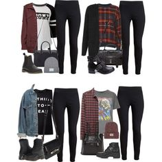 Majority of these hipster outfits display a mix a couple of design, valuable tim… Majority of these hipster outfits display a mix a couple of design, valuable time periods, or cultures. School Outfits For Teen Girls, Teenage Outfits, Teen Fashion Outfits, Edgy Outfits, College Outfits, Cool Outfits, Hipster Outfits For Teens, Fashion Boots, Soft Grunge Outfits
