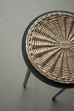 stool - meet the wicker collection - chudy + grase - 2014