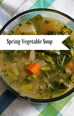 Chef Michael Symon made a Spring Vegetable Soup recipe on The Chew, which celebrates spring flavors and is surprisingly easy to make. http://www.foodus.com/the-chew-michael-symon-spring-vegetable-soup-recipe/