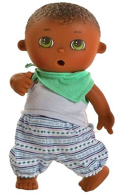 Bright Baby Puppe Spiel Puppe Nino Ca 37 Cm Von Paola Reina Art Nr 5011 Babypuppen & Zubehör
