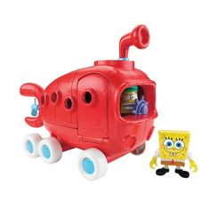 "Fisher-Price Imaginext SpongeBob Bikini Bottom Bus - Fisher-Price - Toys ""R"" Us"