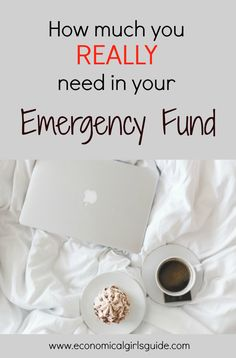 How much do you really need to save in your emergency fund savings account? | Economical Girl's Guide