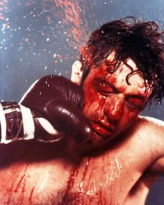 Robert De Niro in Raging Bull by Martin Scorsese, 1980 Al Pacino, Great Films, Good Movies, 80s Movies, Akira, Ask The Dust, 1980s Films, Raging Bull, Bob Hope