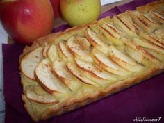 * Whiteliving No7 *: Ich backs mir... Apfel-Frangipane-Tarte