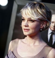 Carey Mulligan's hair from another angle