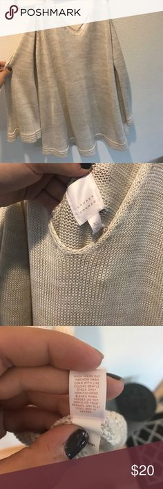 Lauren Conrad Shoulder Cutout Sweater 💝 Brand new, really soft and cute, little bows on top of the shoulder. Offers welcome! LC Lauren Conrad Sweaters
