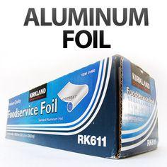 30 unusual uses for aluminum foil.