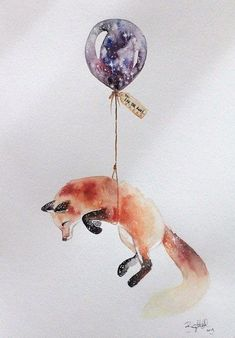 Fox illustration by Brigitte May Illustration Tumblr, Illustrations, Art Inspo, Art Fox, Art Design, Warrior Cats, Painting & Drawing, Fox Drawing, Fox Painting