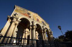 Church of All Nations and Gethsemane Garden, Antonio Barluzzi